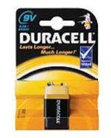 DURACELL 9v  BATTERY  ( 1 per pack )