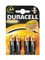 DURACELL AA BATTERY  ( 4 per pack )
