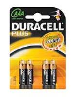 DURACELL AAA BATTERY  ( 4 per pack )