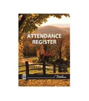 ATTENDANCE REGISTER SOFT COVER  A4