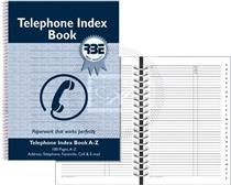 RBE TELEPHONE INDEX BOOK - F0751