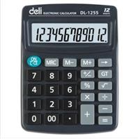 Deli Calculator  1255  Medium 12 digit