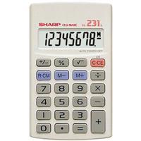 Sharp Calculator  EL231 8 digit