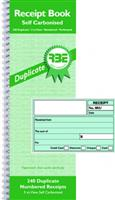RBE Cash Receipt Book  Duplicate  Ref# F0201 ( 240 numbered )