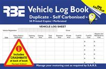 RBE Drivers Vehicle Log Book  F0584