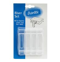 Bantex 9863 Letter Tray Risers