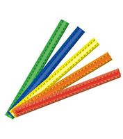 Ruler - Coloured  ( 30cm only )
