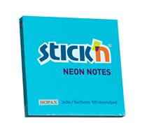 Sticky 'n Note  ( 76 x 76 )  Neon  Colours