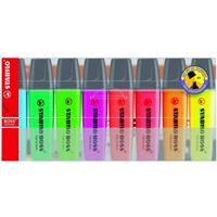 Stabilo Boss Highlighters  Wallet of 8