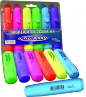 Colloso Highlighters  Wallet of 6