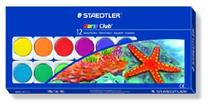 Staedtler WaterColour Paint Set 12 cols & Brush