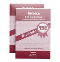 RBE A5 Invoice Book  Triplicate ref#F0010
