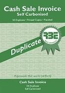 RBE A5 Cash Sale Book  Duplicate ref#F0102