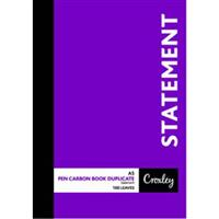 A5 DUPLICATE STATEMENT BOOK ( JD22DT )