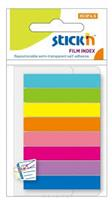Film Index  Flags ( 45 x 8mm )  8 Assorted  Colours