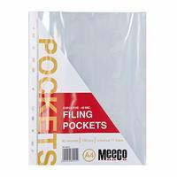 Standard Filing Pockets 30mic ( 10 or 100 per pack )