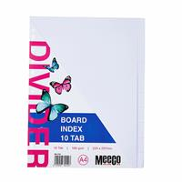 A4 Board Divider White 10 Cut