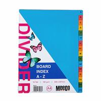 A4 Board Divider Rainbow ( A to Z ) 16 position