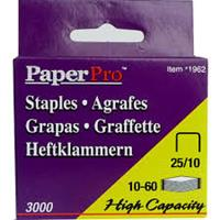 PaperPro Staples 25/10 ( 3000 staples per box )