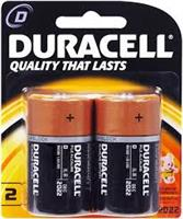 DURACEL D BATTERY  ( 2 per pack )