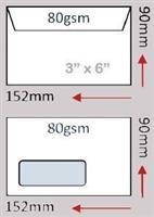 Envelope ( 90 x 152mm )