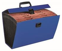 Bantex 5568 Portable Concertina File ( 19 Section )