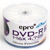 Epro DVD-R  ( Spindle of  50 ) Printable Surface