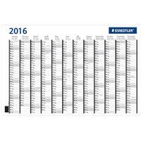Staedtler Laminated  Year Planner