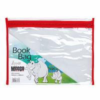 Pvc BOOK BAG WITH ZIP