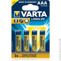 Varta Batteries  AAA ( 4 per pack )