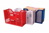 Tidy Files Slated Plastic Containers