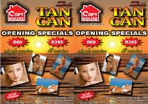 Tan Can Sunbed Pomotion