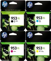 Hp 953xl Black & Colour Ink Cartridges