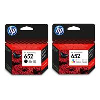 Hp 652 Black & Colour Ink Cartridges