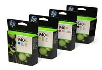 Hp 940xl Black & Colour  Ink Cartridges