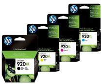 Hp 920xl Black & Colour Ink Cartridges