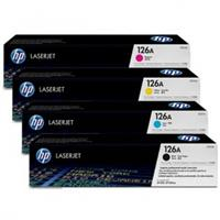 Hp ce310a Black ce311a,ce312a,ce313a Colour Laser Cartridge Range & Drum #126A