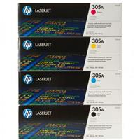 Hp ce410a Black& ce411a,ce412a,ce413a Colour Laser Cartridge Range #305A