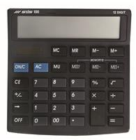 Calculator D100 ( 13cm x 13cm ) 12 digit