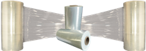 Pallet Wrapp Roll ( 450mm x 400m ) 20mic , ava in Clear or Black