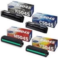 Samsung CLT504 Print Cartridges ( Black , Cyan , Yellow , Magenta )