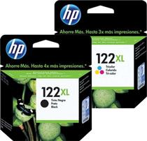 Hp 122xl Black & Colour Ink Cartridges