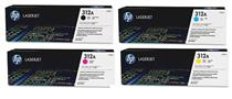 Hp cf380a Black &  cf381a cf382a cf383a Colour Laser Cartridges