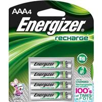 Energizer RECHARGEABLE AAA BATTERY  ( 4 per pack )