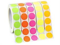 13mm Round Colour Code Labels  ( 400 aprox per box )