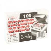 Record Cards - A5 JD639 , A6 JD638 , A7 JD637