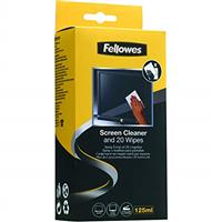 Fellows Screen 125ml Cleaner & 20 Wipes